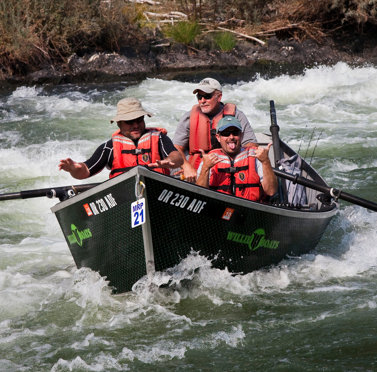 Whitewater Fishing Adventure through the Rogue River Canyon