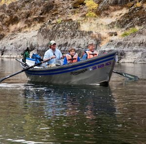 Conventional Fishing on the Rogue River