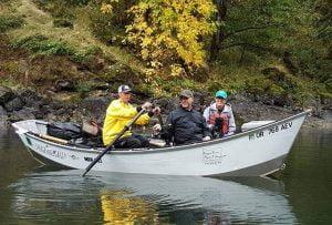 Back bouncing bait fishing
